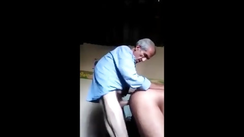 Old Mature Man Fucking Girl Doggy Style