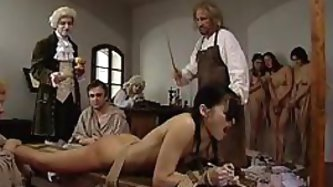 Submissive Bound Teens Get Spanked In A Sadistic Epocal Porn Movie