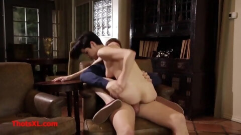 Step Dad and Daughter Fuck while Mom Sleeps