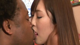 This AviDolz sex clip is worth your attention. Just have a look at this pale slim Asian chick who gets rid of her clothes. Black dude licks her tits a
