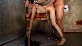 Sasha Grey fucked and bound