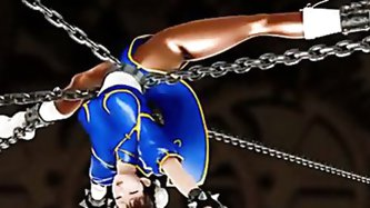 Chunli Bondage and Sexservant 3D - Hentai porn tube video