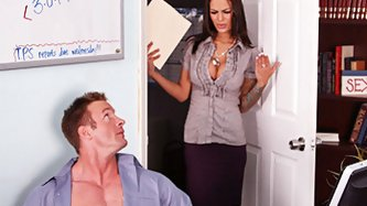 Angelina's boss leaves unexpectedly but before leaving warns Angelina not to go in her office. Being the nosy secretary that Angelina is, she goe