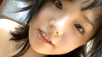 Awesome brunette from Japan is worth checking out in All Gravure clip. This kinky nympho is hot like hell. Even when this nice charming girlie wears b