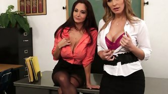Ava Addams , Tanya Tate - Teachers porn tube video