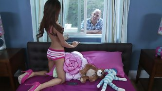 When Johnny Sins finds that his best friend's sis is one of those attention-seeking webcam girls, he gets it into his head that he'll be abl
