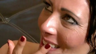Lustful milfs are ready to polish huge dongs and eat sperm. Enjoy watching exciting compilation sex tube video featuring hot tempered babes who blows
