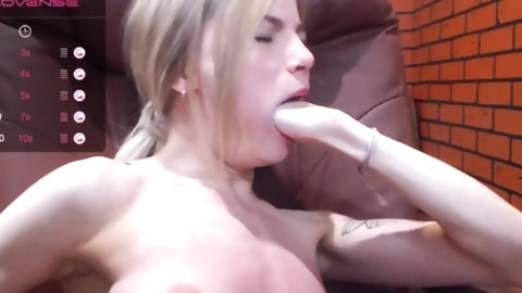 pussy whipping tits and hand deep throat