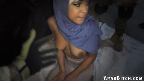 Arab womanplayfellow white girl The Booty Drop point 23km outside base