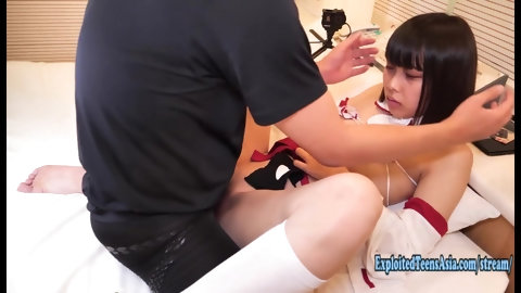 Petite Jav Amateur Schoolgirl Makes Her Debut Uncensored Exceptionally Cute Freshman Pussy Stretched