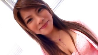 Amazingly beautiful Asian enchantress Sara Nakamura can give any man an instant erection just seeing her lovely face! That babe knows how to give a go