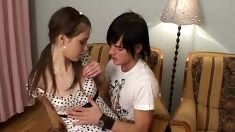 Who doesn't like to see a hot teen sucking cock and getting her shaved tight teen pussy fucked hard? We all do! And it gets even better when the.