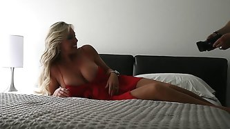 Having Fun With Blonde Mommy