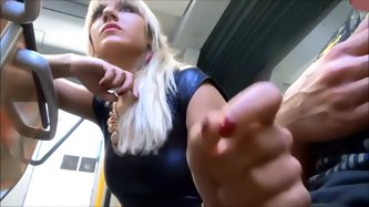 My homemade porn video is very hot and that is why I posted it online and showed the world how I gave my bf a handjob on a bus.
