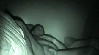 I was suspecting that my wife cheats on me for quite some time. When I placed the night vision camera in our bedroom I got this homemade video of her
