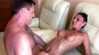 Milf doing it up with two guys - MILF Porn