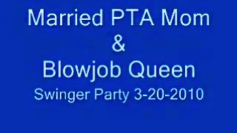 Married pta mommy swing party oral-service
