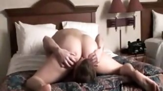 Girlfriend triest out the facesitting fetish on her boyfriend and has the strongest orgasm as her butt jiggles around.