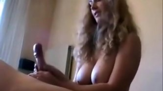 Amateure french wife with large love melons astounding tugjob
