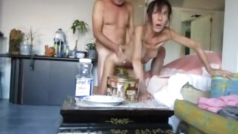 skinny old wife hardcore sextape